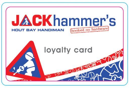 Jack Hammer's Loyalty Card